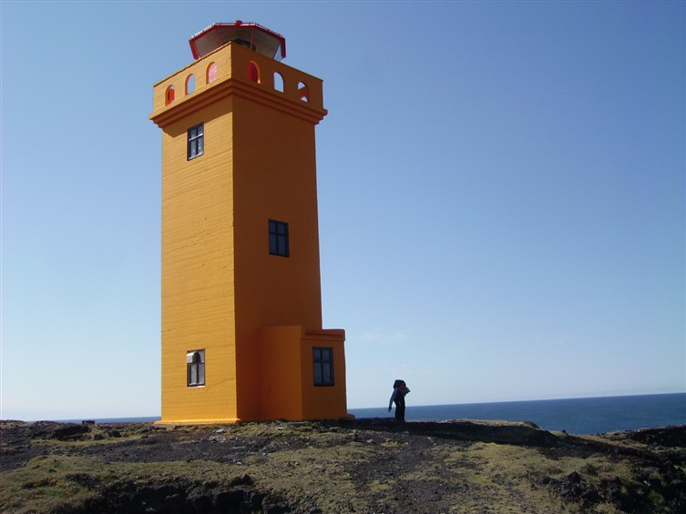 Here it is - the first lighthouse